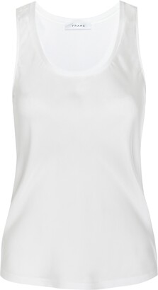 Frame Washable Silk Tank