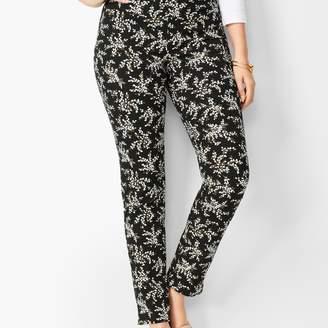 Talbots Chatham Ankle Pants - Curvy Fit - Petal Print
