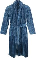 Majestic International Men's Plush Robe, Small Medium