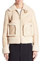 Chloé Cropped Shearling Jacket