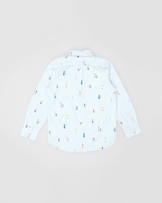 Gapkids Oxford Print Shirt