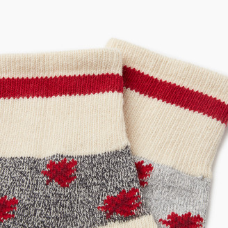 Roots Maple Cabin Ankle Sock 2 pack