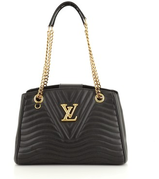 Louis Vuitton New Wave Chain Tote Quilted Leather