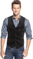 Alfani Men's Velvet Satin-Trim Vest