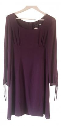 Cacharel Purple Silk Dresses