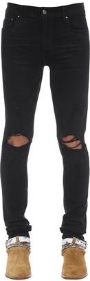 Amiri 15cm Trasher Minimal Cotton Denim Jeans