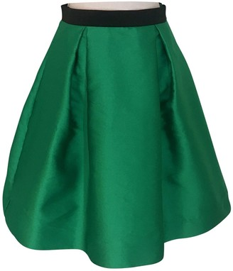 P.A.R.O.S.H. Green Skirt for Women