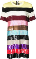 Ashish sequin striped dress
