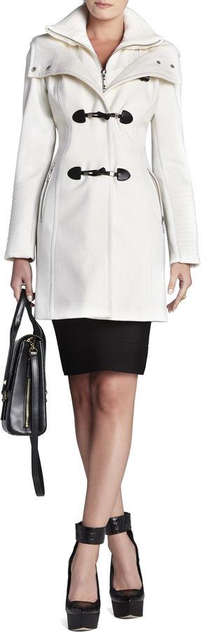 BCBGMAXAZRIA Samantha Toggle Coat