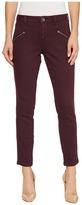 Jag Jeans Ryan Skinny Colored Knit Denim in Plum Noir Women's Jeans