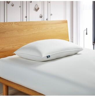 Blue Ridge Home Fashions Serta 300 Thread Count White Down Fiber Bed Pillow-Back Sleeper - King - White