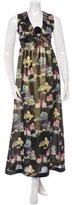 Cynthia Rowley Metallic Brocade Dress w/ Tags