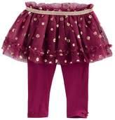Baby Starters Baby Girl Foil Flower Tutu Leggings