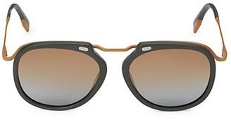 Ermenegildo Zegna 54MM Round Sunglasses