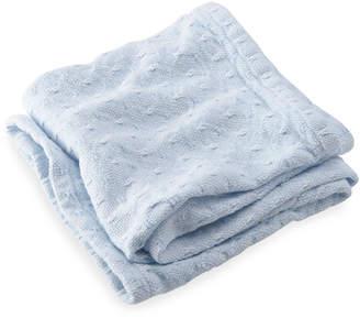 Brahms Mount Sandpiper Knit Baby Blanket