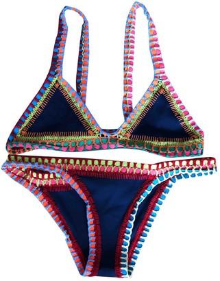 Kiini Multicolour Polyester Swimwear