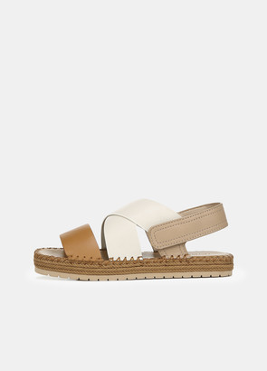 Vince Leather Tenison 2 Sandal