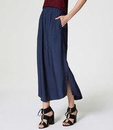 LOFT Fluid Maxi Skirt