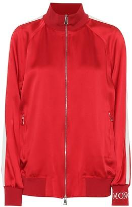 Moncler Satin track jacket