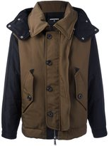 DSQUARED2 hooded coat