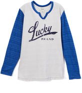 Lucky Brand Microchip Blue 'Lucky' Tee - Toddler & Boys