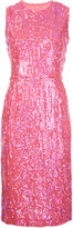 Comme des Garcons sequin metallic dress - women - Polyester - M