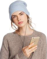 Rebecca Minkoff Beanie with Wired Headphones - 100% Exclusive