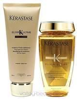 Kérastase Krastase Elixir Ultime Huile Lavante Bain 250ml And Elixir Ultime Fondant Conditioner 200ml Duo
