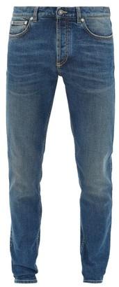 Givenchy Logo-patch Slim-leg Jeans - Mens - Indigo