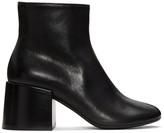 MM6 MAISON MARGIELA Black Cube Heel Boots