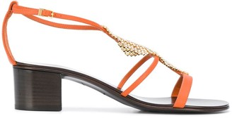 Giuseppe Zanotti Ermes rhinestone sandals
