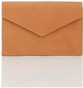 Barneys New York Envelope-Style Pouch-TAN