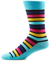 Yo Sox Multi Stripe Crew Socks