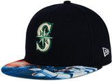 New Era Seattle Mariners MLB x Star Wars Viza Print 59FIFTY Cap