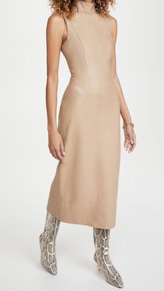Alexis Farrah Faux Leather Dress