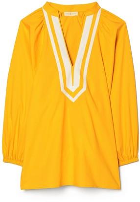 Tory Burch Puffed-Sleeve Tunic