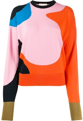 Roksanda Abstract Print Jumper