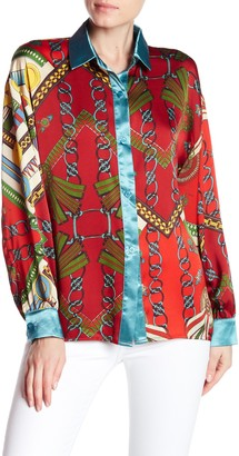 Tov Loose Fit Blouse