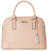 Kenneth Cole Reaction Pale Pink Mirror Master Dome Satchel