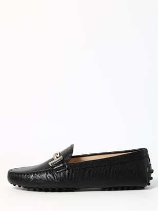 Tod's Tods Rubber Loafer Black
