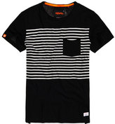 Superdry Lite Loomed Chest Band Pocket T-shirt