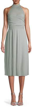 TFNC Samantha Halter Sleeveless Midi Dress