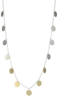 Ippolita Classico Chimera Two-Tone Hammered Paillette Necklace