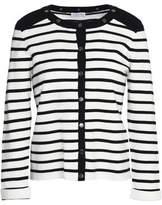 Claudie Pierlot Martin Striped Cotton Cardigan