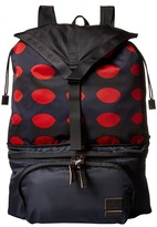 Marni Printed Nylon Backpack Backpack Bags