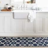 Williams-Sonoma Williams Sonoma Scroll Tile Kitchen Rug, Blue