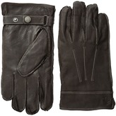 Original Penguin Leather Gloves with Darts