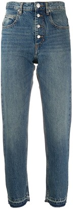 Etoile Isabel Marant High Rise Straight Jeans