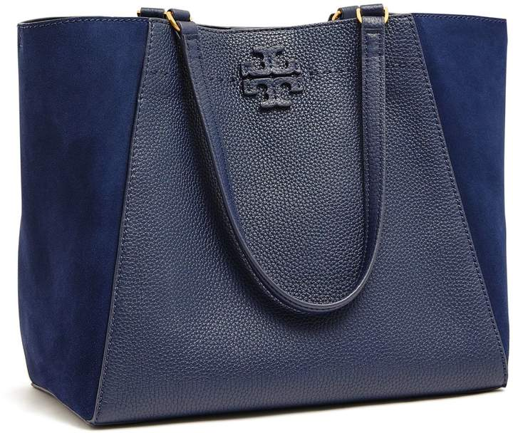 Tory Burch MCGRAW MIXED-MATERIALS CARRYALL