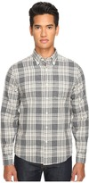 Jack Spade Palmer Heathered Double Face Plaid Button Down Men's Clothing
